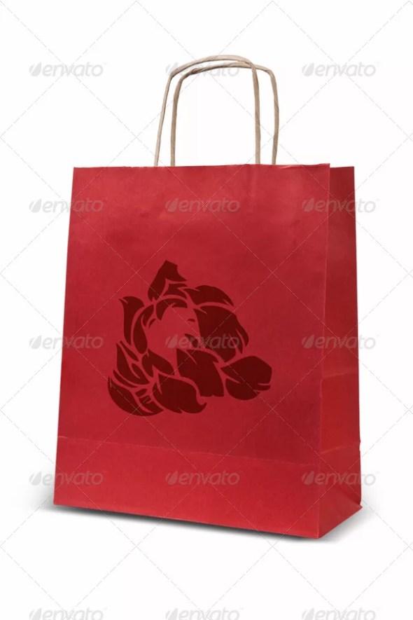 Shopping Bags Mockup