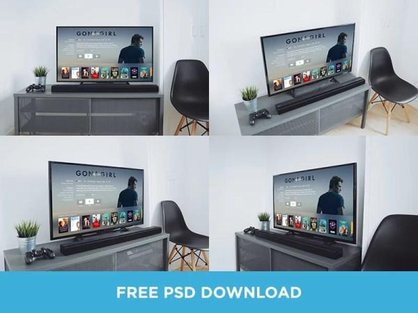 Free TV Mockups PSD