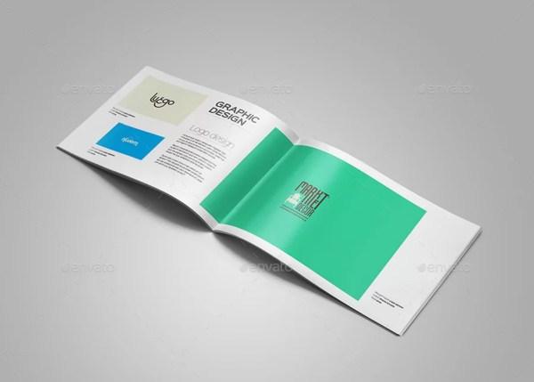 A4 Portfolio Brochure Template