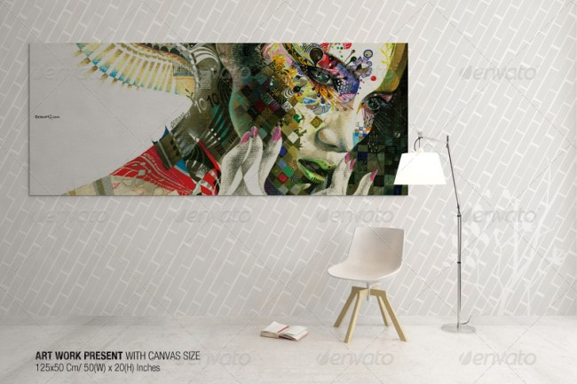 Art Wall Mockups Vol.4