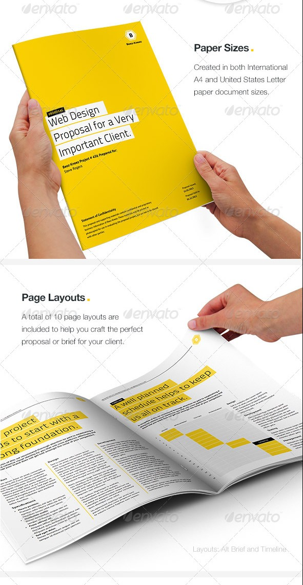 Proposal Layouts Template Examples – Proposal Layouts