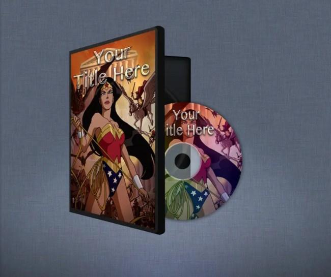 Free DVD Case Mockup