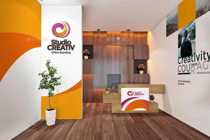 Studio / Office Branding Mockups V2