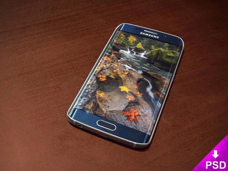 Samsung Galaxy S6 Edge Blue