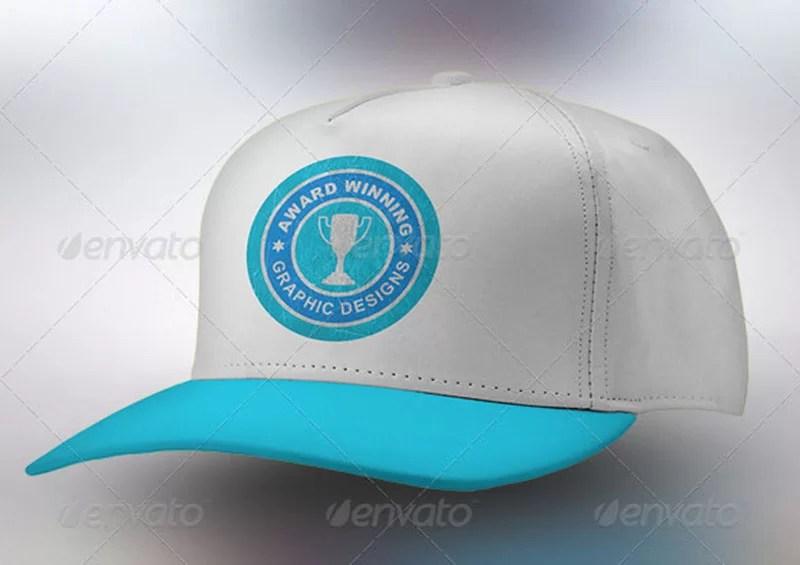 premium hat psd mockup template