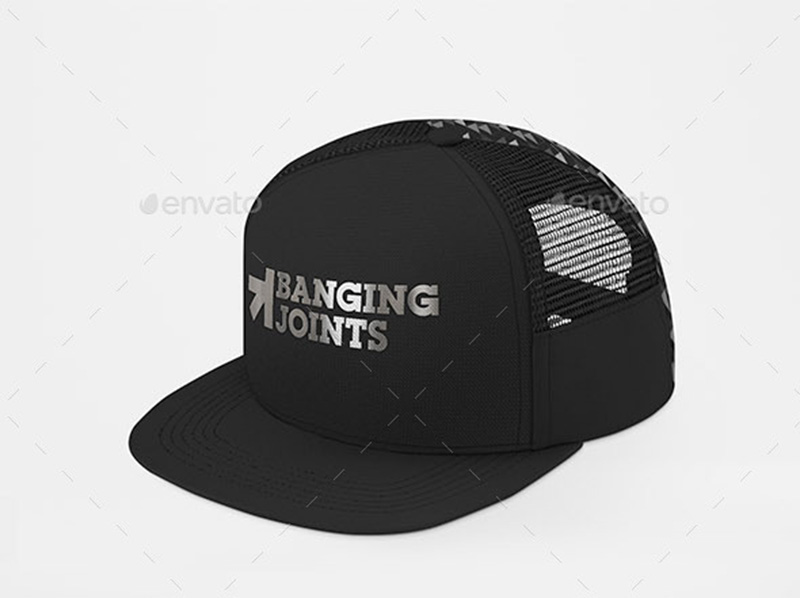 Download Trucker Cap Mockup Psd Yellowimages
