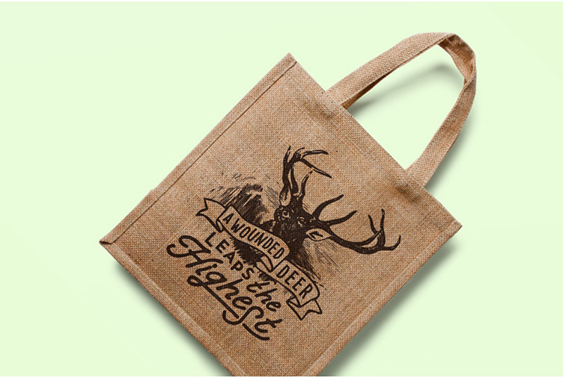 great psd mockup shopping bag eco bag