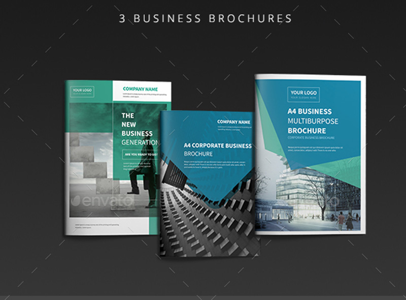 best corporate business brochure mockup psd
