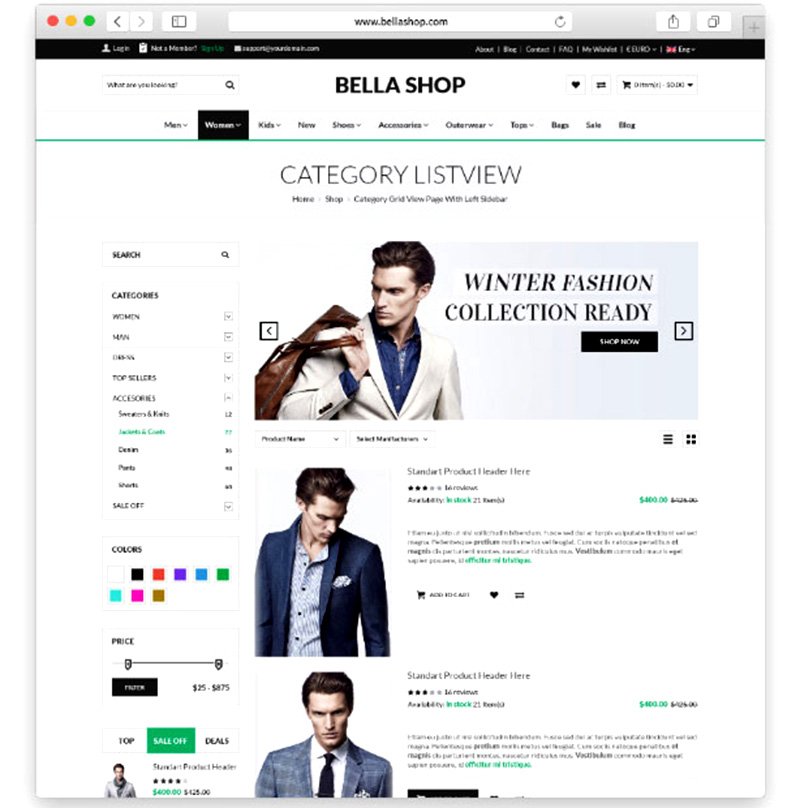 awesome premium ecommerce wordpress themes