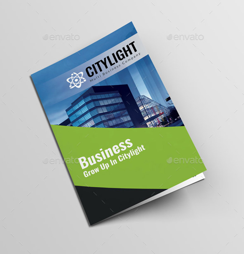 business corporate brochure template design psd