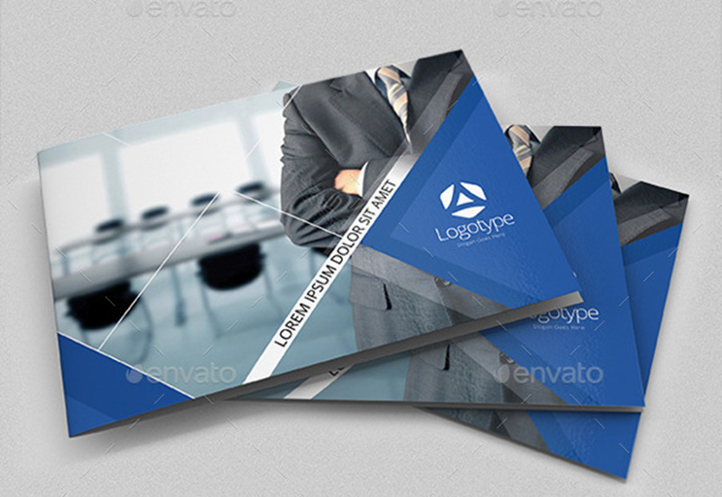 corporate brochure design psd