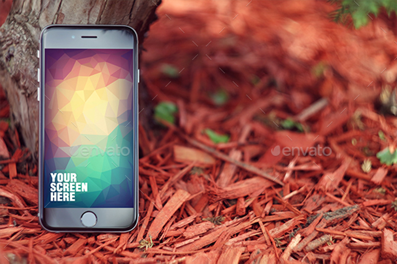 best latest premium iphone 6 screen mockup psd