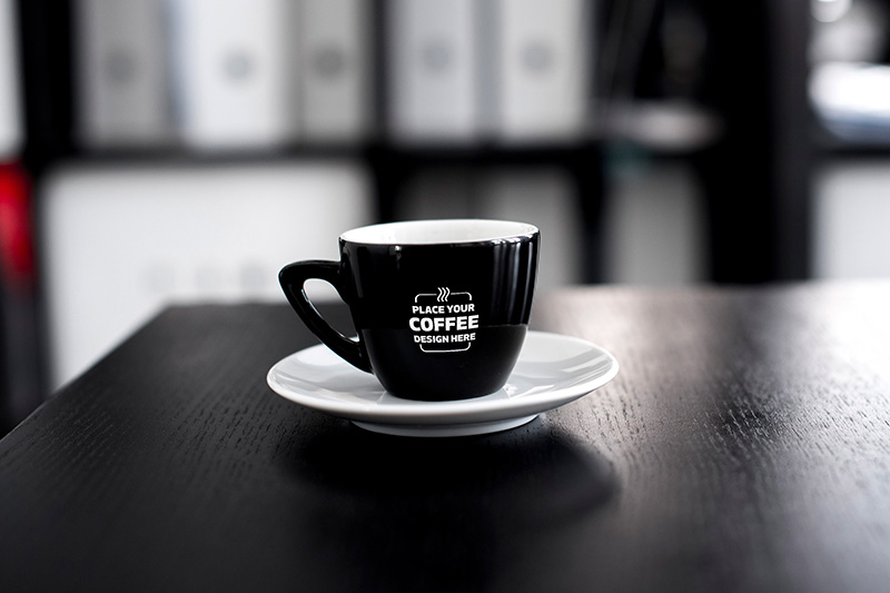 latest premium coffee cup mockup template psd