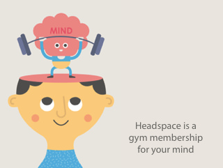 Pseudomyxoma Survivor: Headspace is a gym membership for your mind