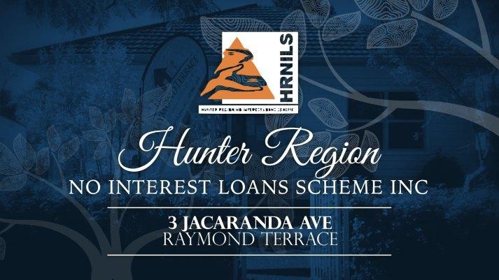 Hunter Region No Interest Loans Scheme