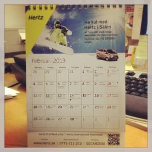 Hertzkalender 2013