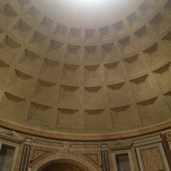 Pantheon - tempel i Rom, Italien.