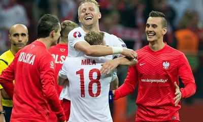 Poland Celebrate against Germany 1