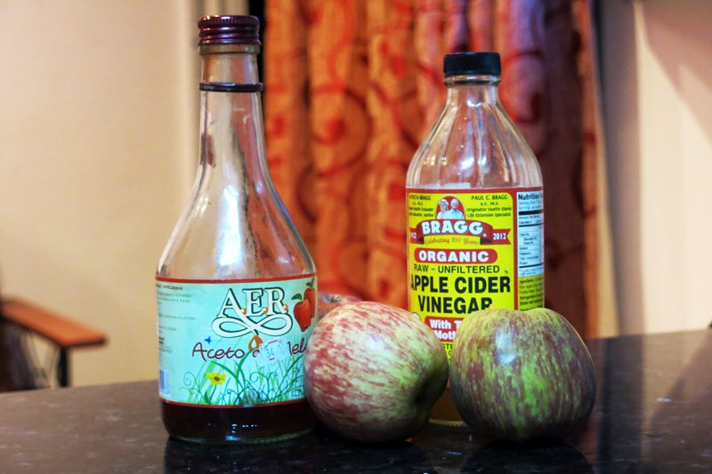 Apple Cider Vinegar Melts Away Psoriasis Flakes