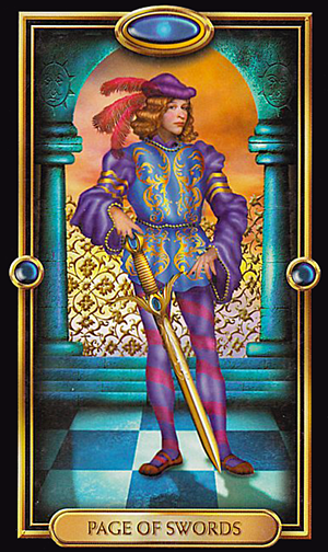 Tarot Of The Week The Page Of Swords