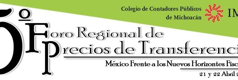 5to Foro Regional de Precios de Transferencia #preciosdetransferencia