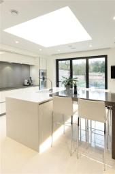 Brilliant White Kitchen