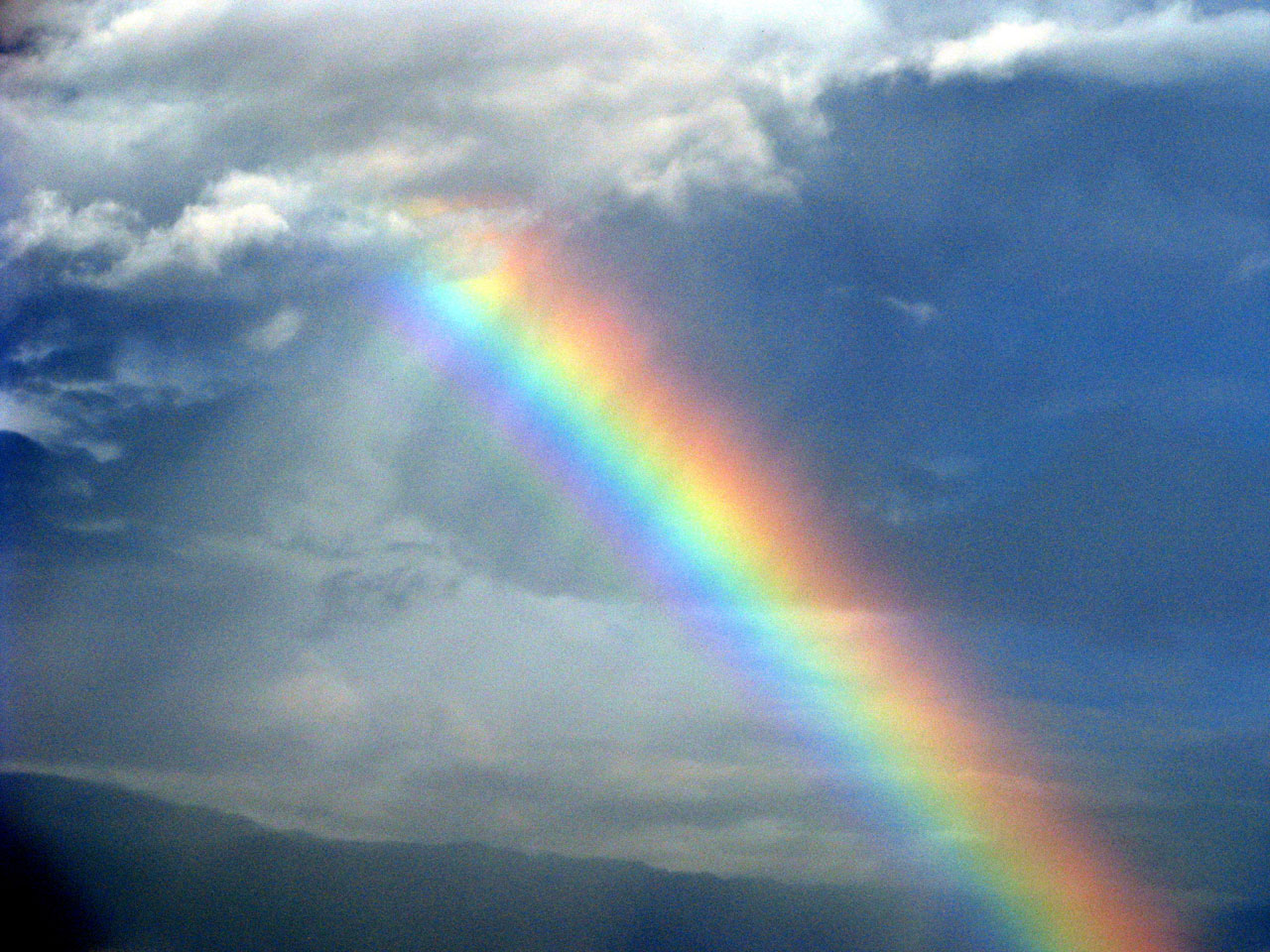 Enhanced Rainbow Free Stock Photo   Public Domain Pictures Free Download