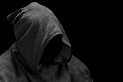 Capuche sans visage Photo stock libre - Public Domain Pictures