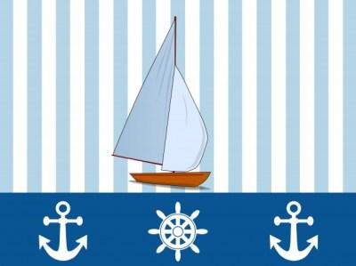 Yacht Nautical Wallpaper Design Free Stock Photo - Public Domain Pictures