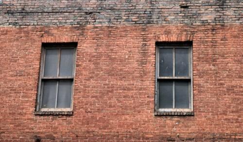 Medium Of Red Brick Wall