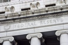 404688 - the facade of the federal reserve bank.