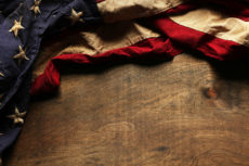 41194113 - old american flag background for memorial day or 4th of july