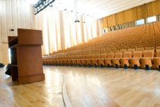13266693 - an empty lecture hall in a university