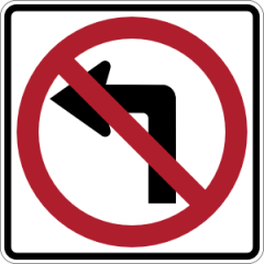 NO_LEFT_TURN_sign