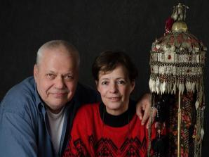 Georges & son épouse (cl. Edoarda Roncaldier)