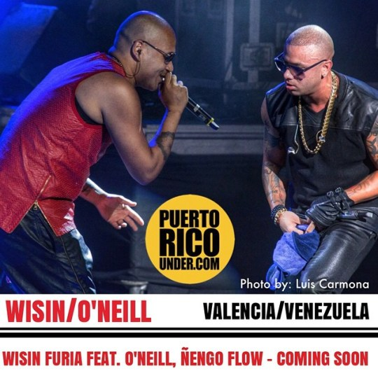 Coming Soon @wisin #furia feat. @oneill_sk @nengoflowofficial - @puertoricounder pic by: @luiscarmona