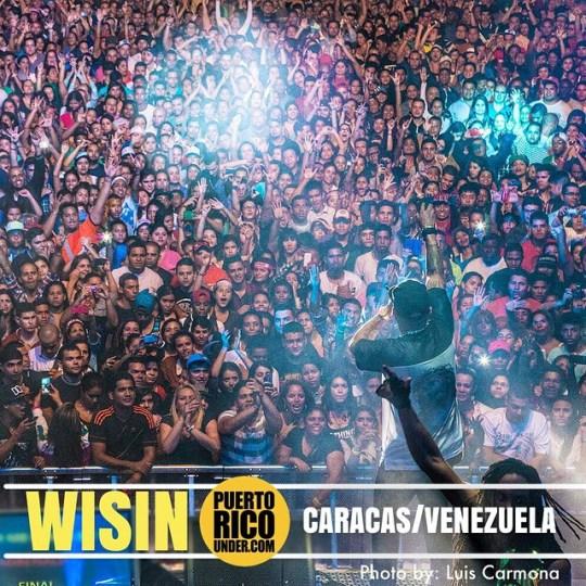 #caracas #venezuela #wisin @wisin @puertoricounder pic by: @luiscarmona @letusdotheworkforyou