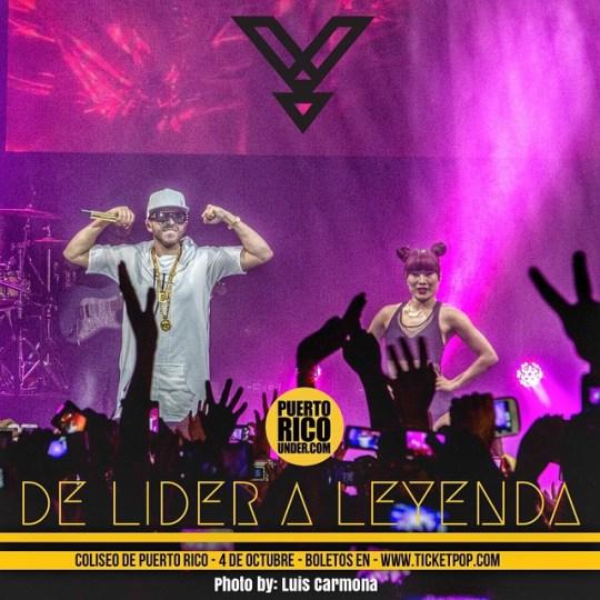 Puerto Rico pendientes a #delideraleyenda @yandel #4deoctubre boletos en @ticketpop @puertoricounder @luiscarmona