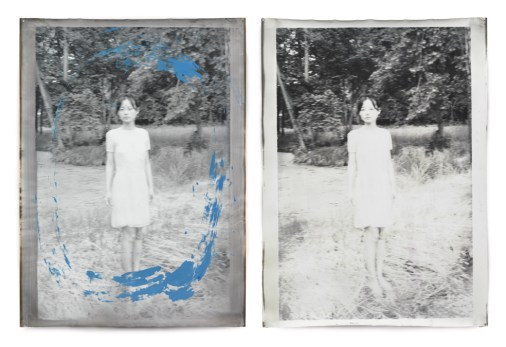 Anonymous Berlin 2, Diptych, 258 x 172 cm, Silver Print, 2012, Edition of 1
