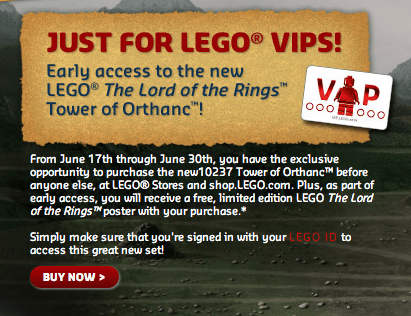 Tower of Orthanc for LEGO VIPs