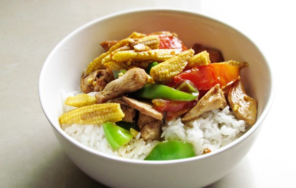 Delicious..this meal will impress your flatmates no end.