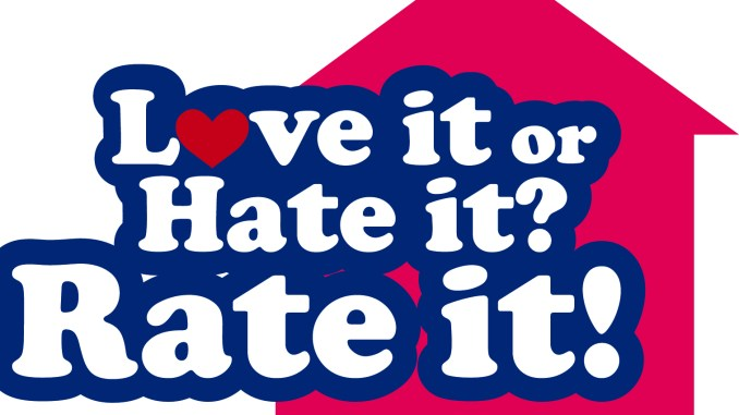 Final Love Hate Rate Logo