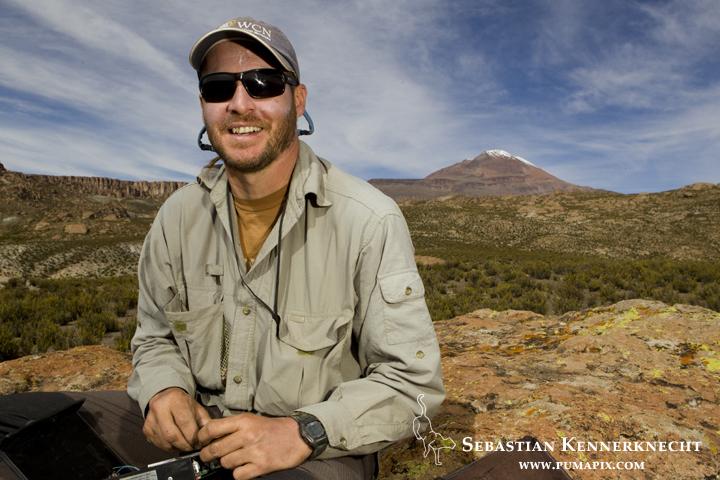 Juan Ignacio Reppucci in the high Andes of Argentina