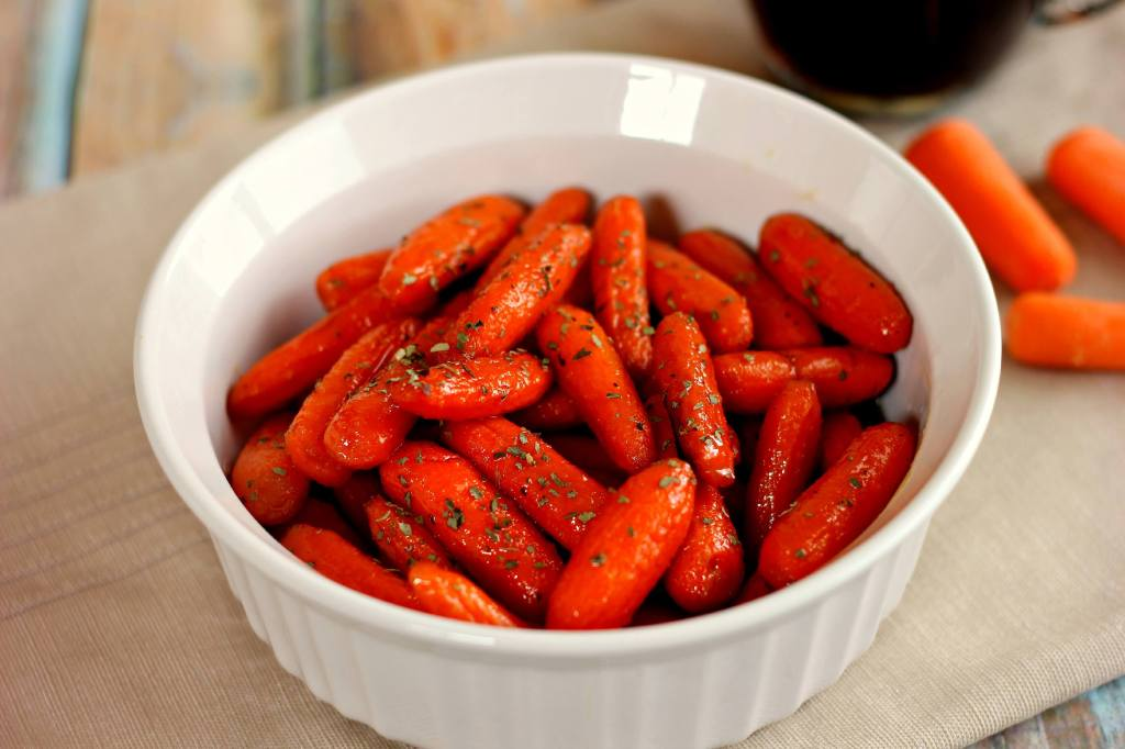 These Maple Brown Sugar Glazed Carrots are simple to prepare and full ...