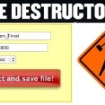 Generador de archivos corruptos