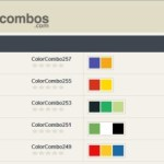 Genera combinaciones y paletas de colores con ColorCombos