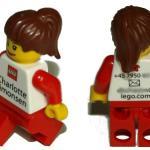 Mini LEGO personal, la mejor tarjeta de presentación
