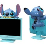Un TV de Disney con Stich adosado