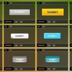 Botones gratuitos en formato Png y Psd
