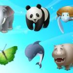 10 paquetes de iconos vectorizados de animales